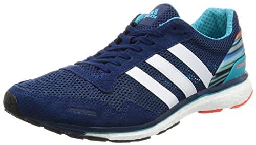 brand new 8e7c3 97eda adidas Adizero Adios M, Scarpe da Ginnastica Uomo, Blu (Mysblu Ftwwht