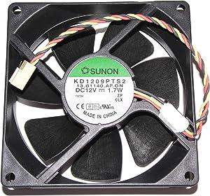 SUNON 9225 KD1209PTS2 12V 1.7W 3Wire Cooling Fan