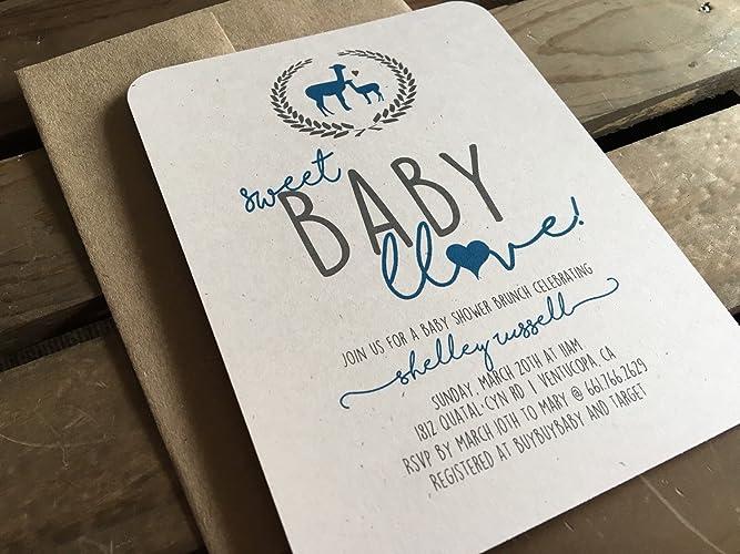 Amazon baby shower invitation custom llama alpaca boy baby shower invitation custom llama alpaca boy or girl gender neutral filmwisefo Gallery