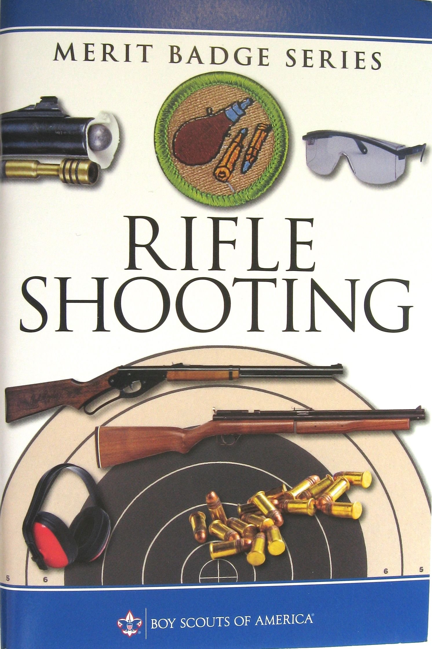 Rifle Shooting Merit Badge Boy Scouts Of America Amazon Com Books