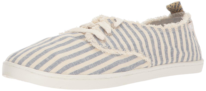 Sanuk Women's Maisie Sneaker B071XM56X4 9.5 M US Blue Stripes