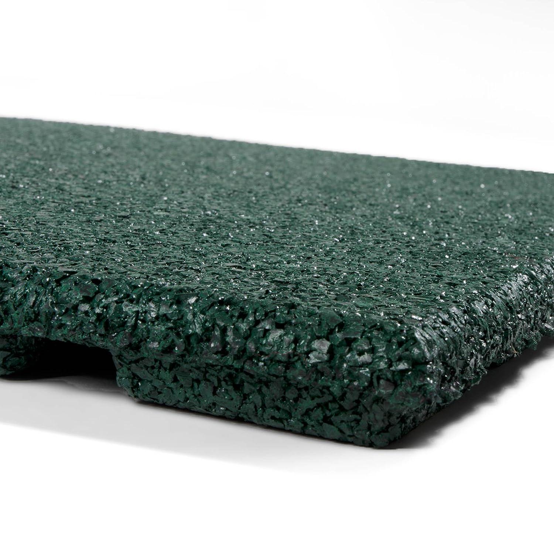 "43 mm, 50x50,Gr/ün Granulatboden 25 oder 43 Millimeter St/ärke Fallschutzmatten /""Play Protect Pro/"""