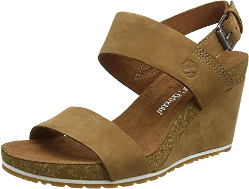 pegamento Grabar equipaje  Timberland Women's Capri Sunset Wedge Ankle Strap Sandals: Amazon.co.uk:  Shoes & Bags