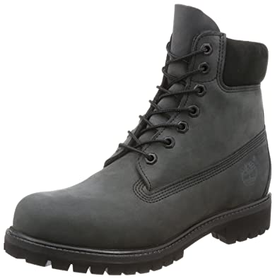 Timberland Mens Forged Iron Grey 6 Inch Premium Boots  Amazon.co.uk ... 7d6ebda24407