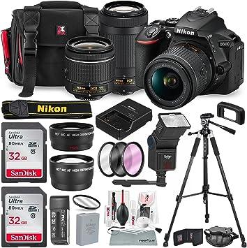 Amazon.com: Nikon D5600 °Cámara réflex digital con NIKKOR 18 ...