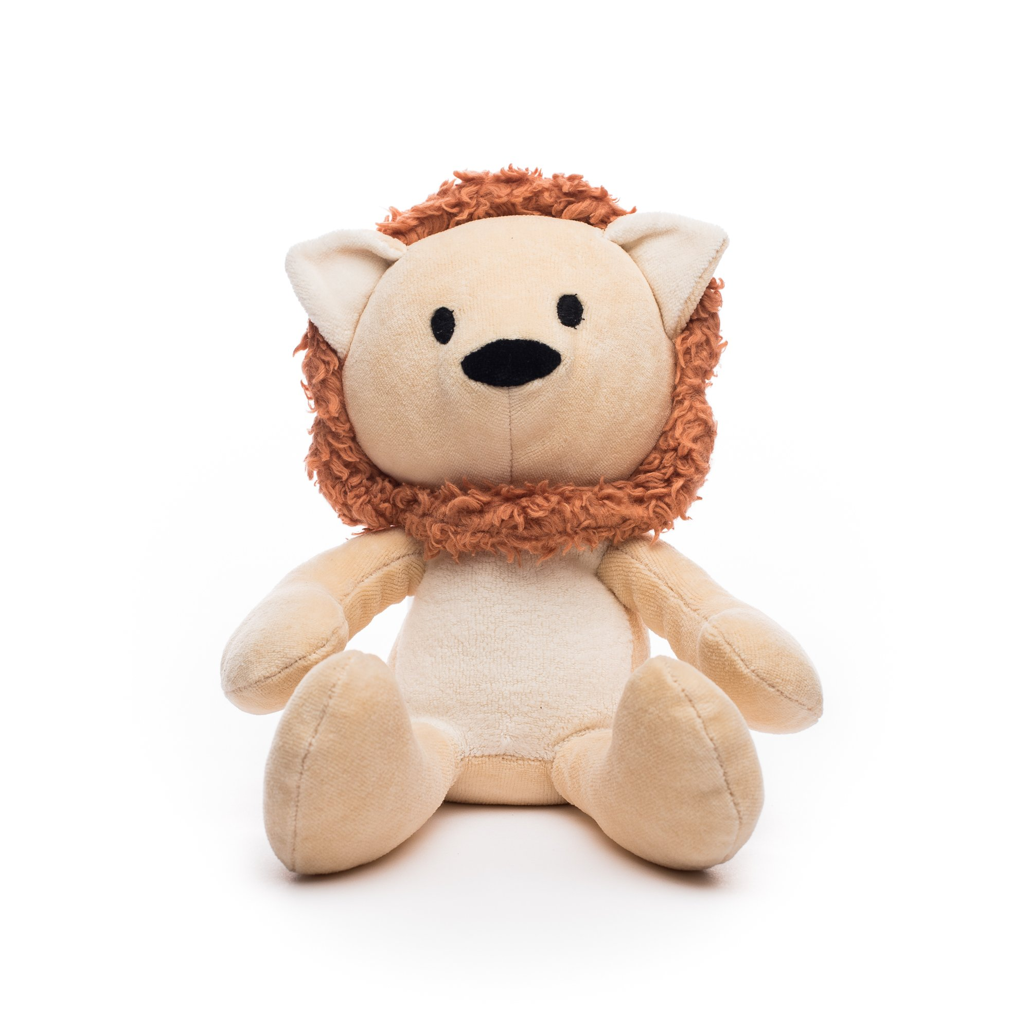 Bears For Humanity Lion Stuffed Animal - Organic Lion is a Non-Toxic, 12'' PlushToy by Bears For Humanity