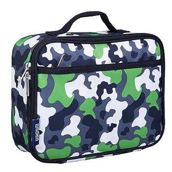 be537d92b161 Wildkin Lunch Box, Green Camo