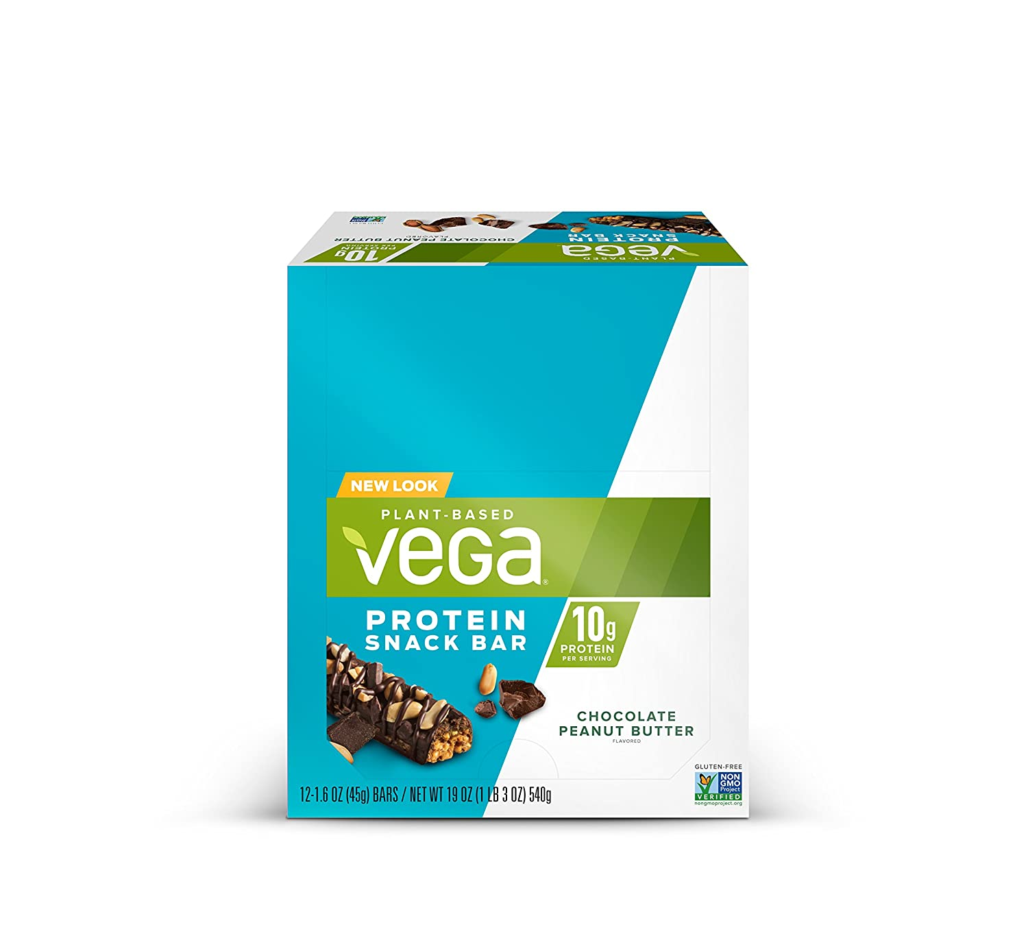 The Vega Protein Snack Bar Chocolate Peanut Butter travel product recommended by Stefanie Almond on Pretty Progressive.