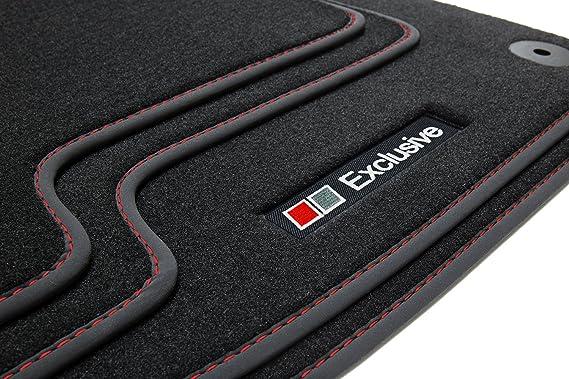2000 bis 2007 Auto Teppiche mit Logo Velours Fußmatten Audi A4 8E B6// B7 ab Bj