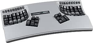 Kinesis Advantage2 Silver Ergonomic Keyboard (KB605)