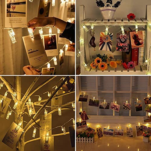 Light up pictures - How to hang up string lights ...