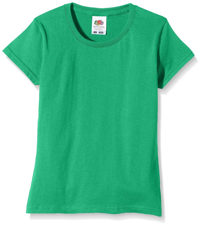 Fruit of the Loom Girls Sofspun T-Shirt 61-017-0