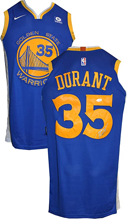 6584ce88eba Authentic Kevin Durant Autographed Signed Golden State Warriors Jersey (JSA  COA)