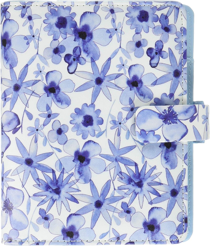 Filofax Patterns Indigo Floral Organiseur de poche