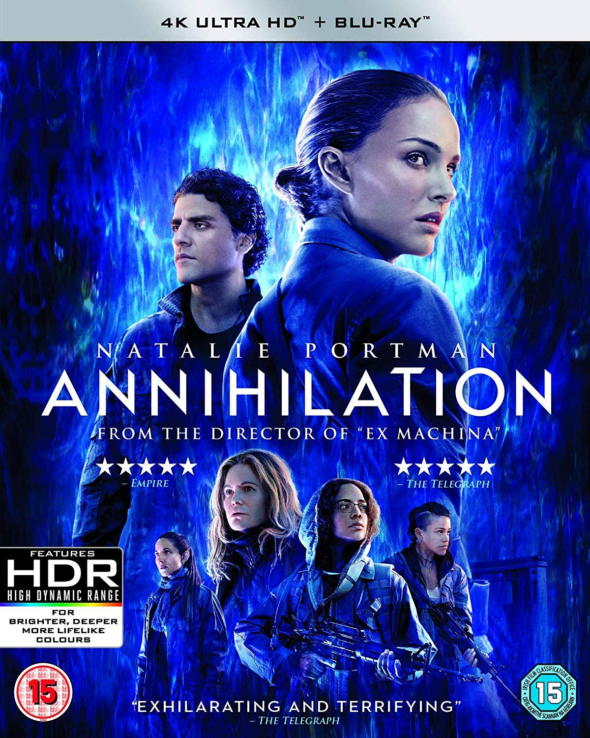 Annihilation Blu Ray 2018 Region Free Amazon Co Uk Natalie