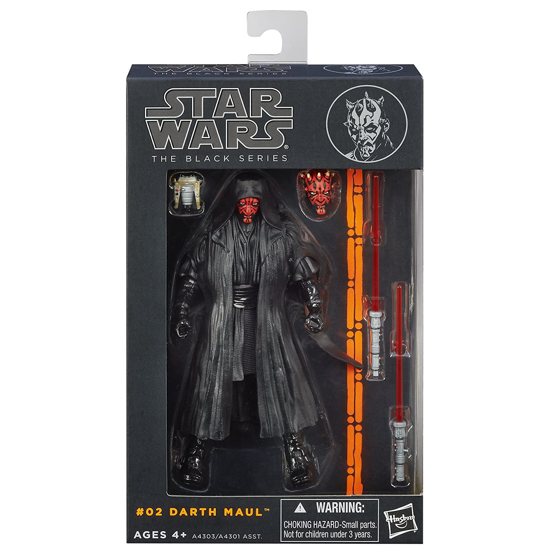 Star Wars The Black Series Darth Maul Figure 6  Inches Hasbro A4303079