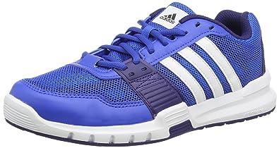 wholesale dealer c43d2 f6bfd adidas Herren Essential Star .2 Hallenschuhe Blau (BlueFtwwht) 42 2