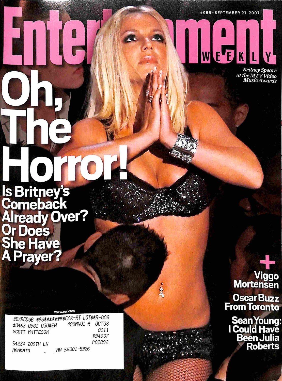 Entertainment Weekly September 21 2007 - Britney Spears, Viggo Mortensen, Sean Young (#955) pdf
