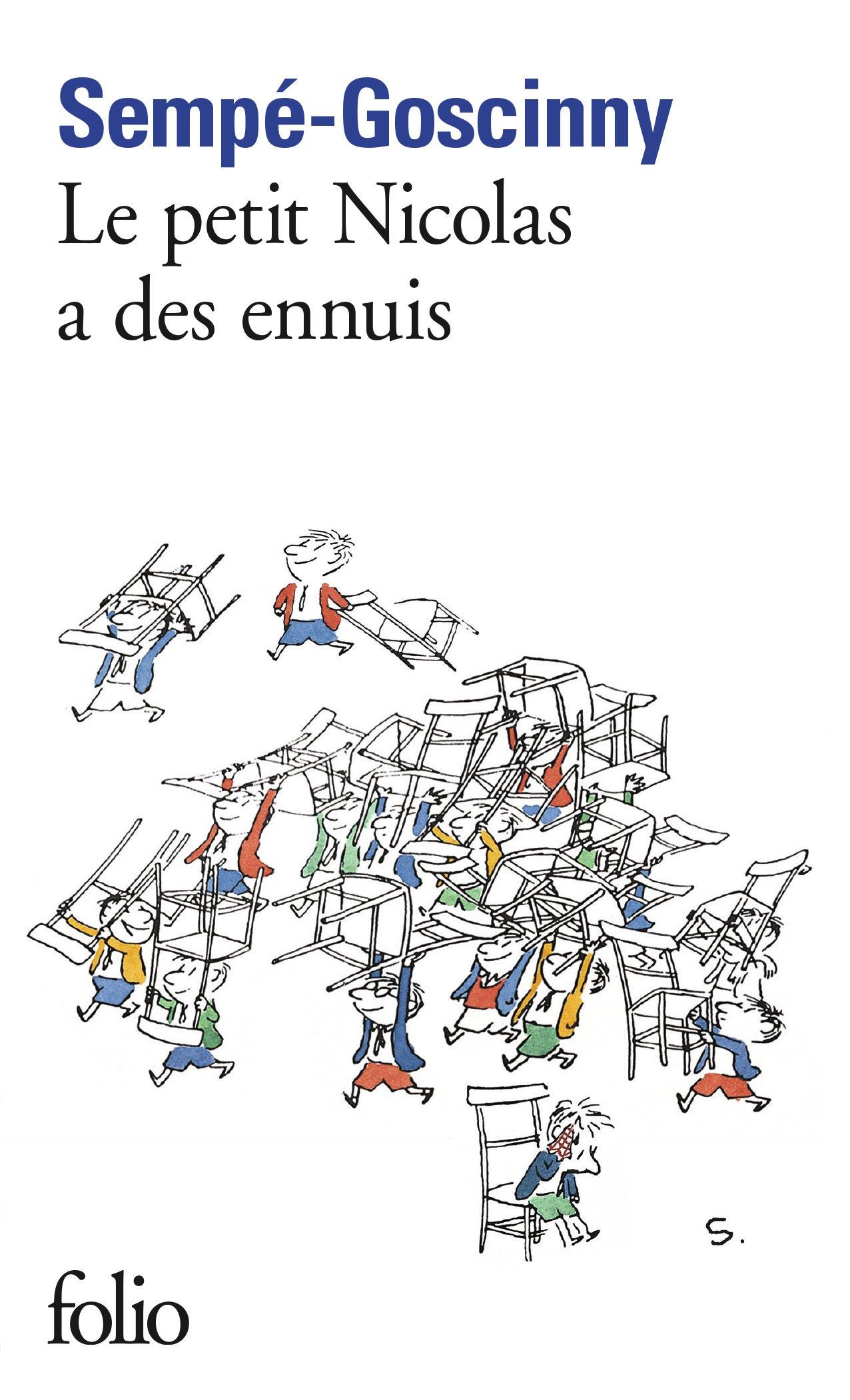 Le Petit Nicolas a des ennuis (Folio)