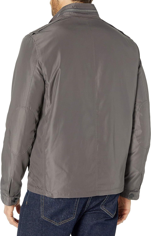 Cole Haan Signature Mens Open Bottom Packable Trucker Jacket