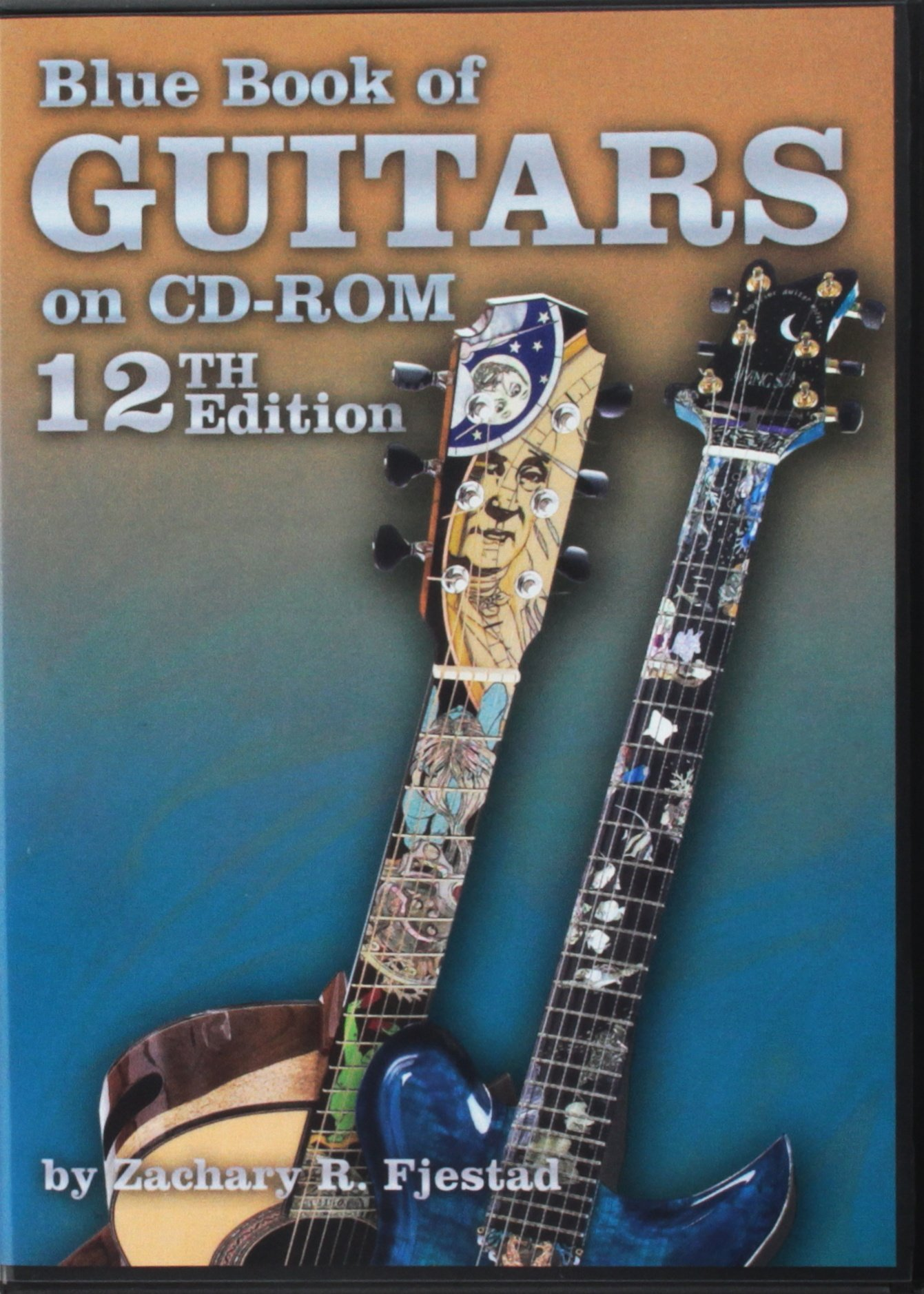 of electric book guitars blue