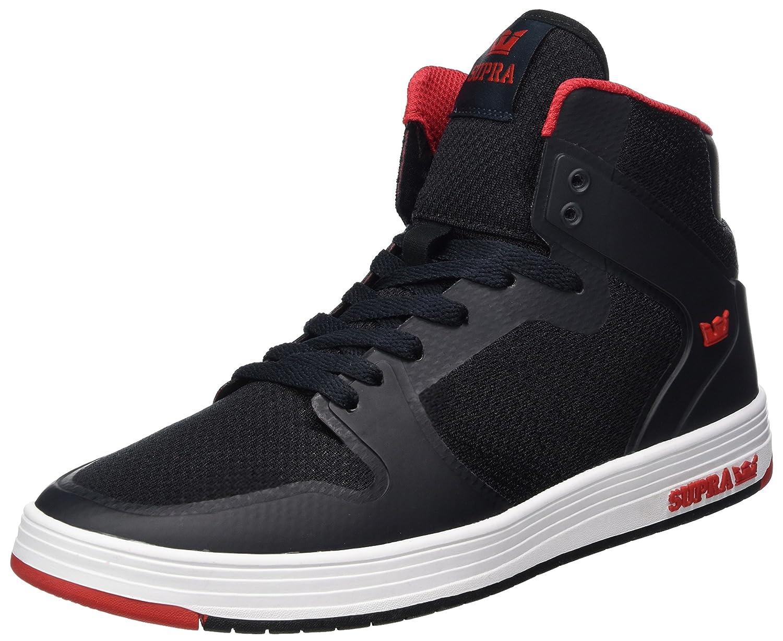 Supra Vaider 2.0, Zapatillas Altas para Hombre 46 EU Negro (Black-red)