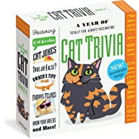 Image for A Year of Cat Trivia Page-A-Day Calendar 2021