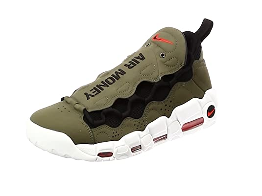 release date 4df56 4be2d Nike Herren Air More Money Fitnessschuhe, Rot (Gym Red Black White 600