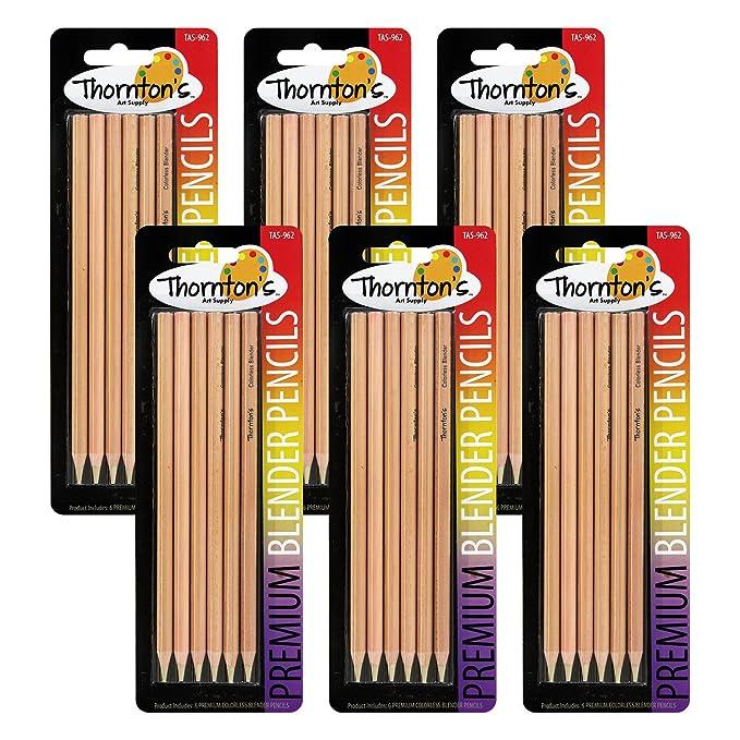 Thornton del arte suministro Premium incoloro licuadora lápices ...