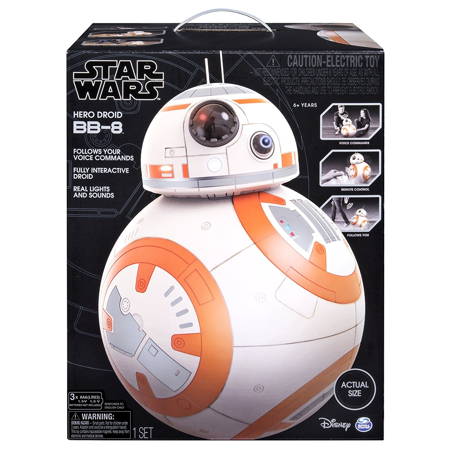BB8 Star Wars Hero Droid Star Wars Hero Droid BB-8 Fully Interactive Droid by BB8 (Image #1)