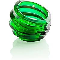 Orrefors Eko Votive Holder, Green