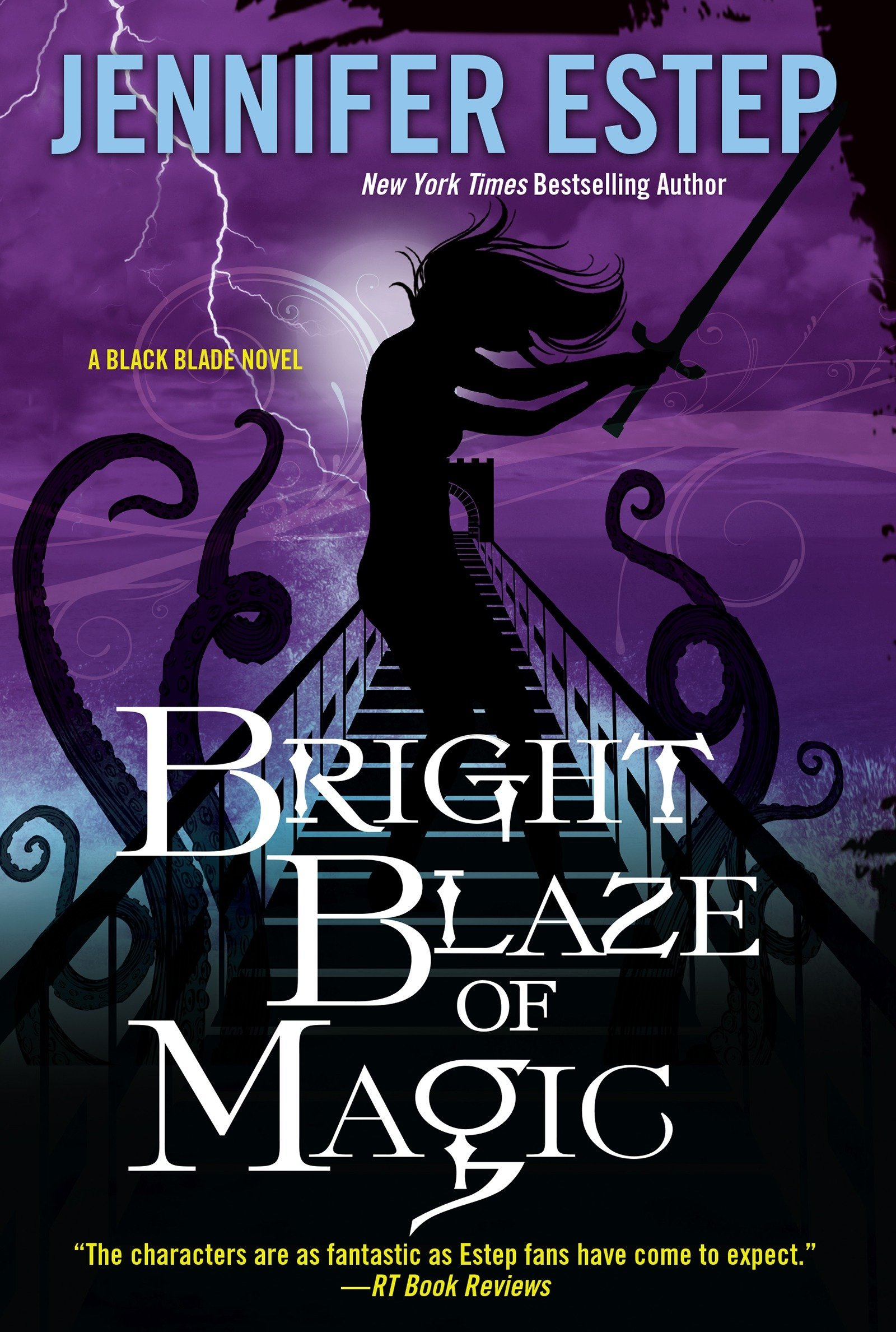 Bright Blaze of Magic (Black Blade, Band 3): Amazon.de: Jennifer ...