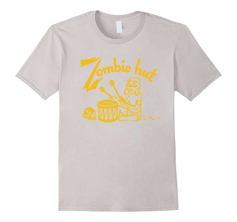 Zombie Hut Tiki Bar Vintage Matchbook T-Shirt-TH