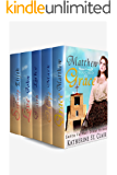 WESTERN CHRISTIAN MAIL ORDER BRIDE ROMANCE: Santa Fe Mail Order Brides Box Set: 1. Matthew Touched by Grace 2. Mark Found by Hope 3. Luke Embraced by Faith ... John Finds Love 5. Eli Sought by Serenity