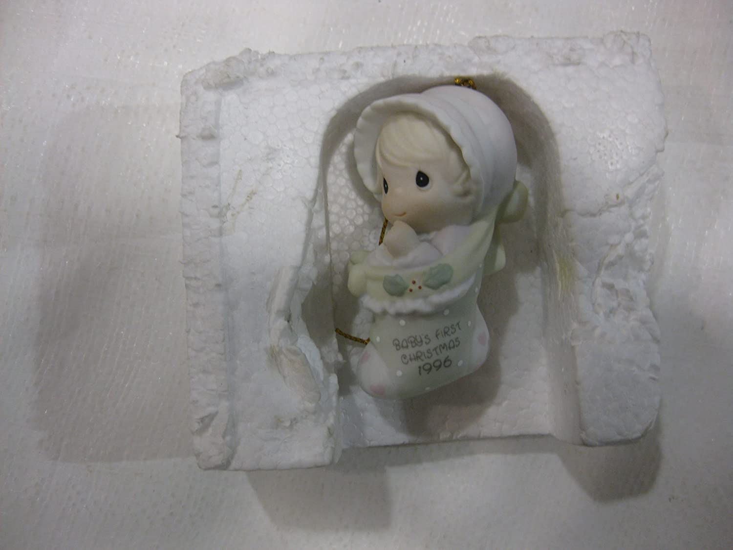 1996 Baby's First Christmas Annual Edition Stocking Ornament by Enesco   B006G2JVDI