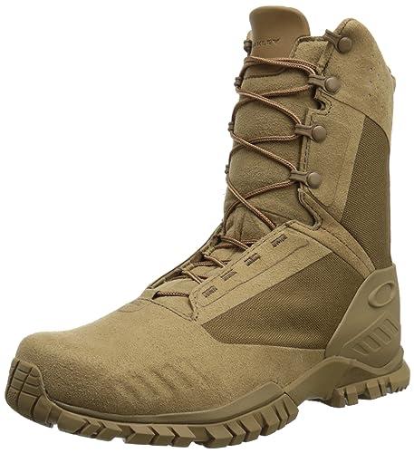 d2f85dd32f4 Oakley Men's SI-8 Military Boot, Coyote, 12.5 M US: Amazon.co.uk ...