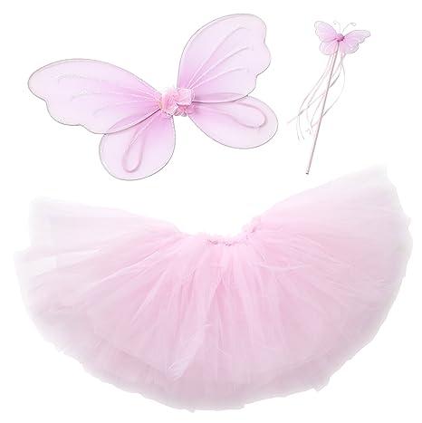 Costume da principessa delle fate per bambina ec564abf020