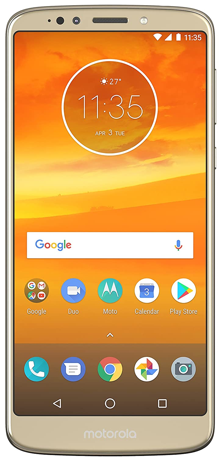 Moto E5 Plus (Fine Gold, 3+32GB) - Get extra Rs 1000 Amazon Pay balance on pre-paid orders