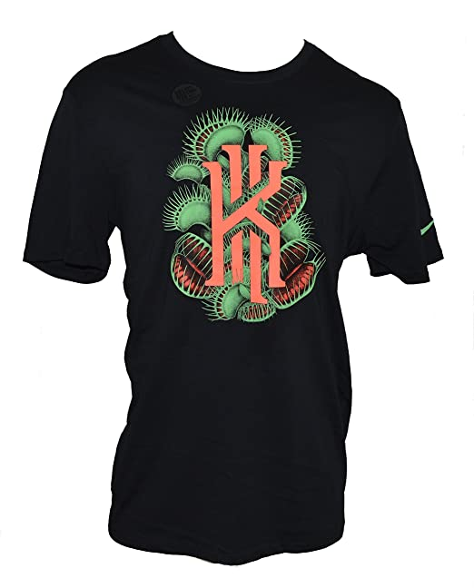 de624df1 Amazon.com: Nike Men's Kyrie Irving Flytrap Dri-Fit T-Shirt XX-Large Black:  Clothing