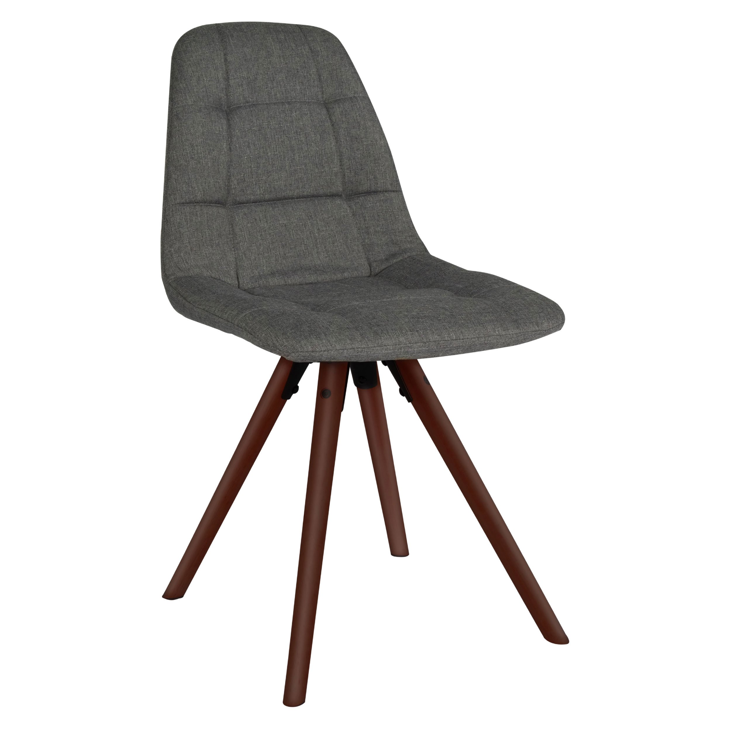 Innovex AC541FMG Sydney Fabric Chair, Medium Grey