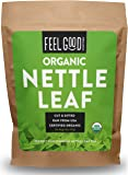 Organic Nettle Leaf - Cut & Sifted - 16oz Resealable Bag - 100% Raw From U.S.A. - by Feel Good Organics