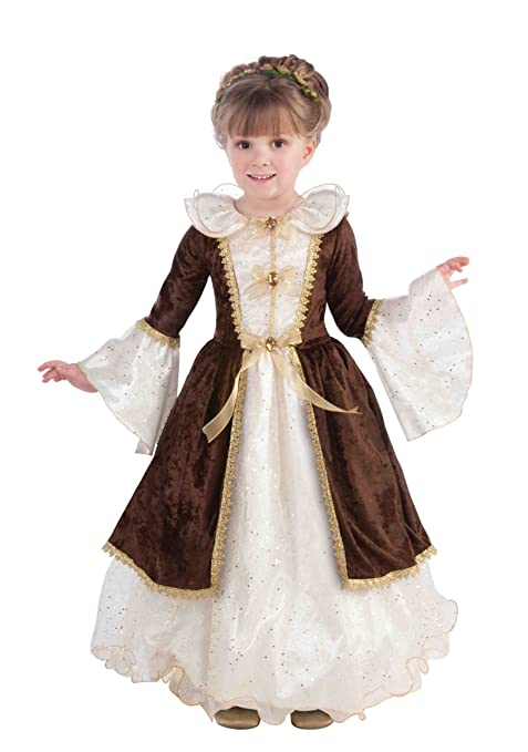 Forum Novelties Pretty Maiden Dress, Child's Small