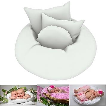 Amazon.com: Bebé recién nacido fotografía almohadas de 4 ...