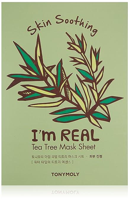 I'm Real Tea Tree Sheet Mask by TONYMOLY #12