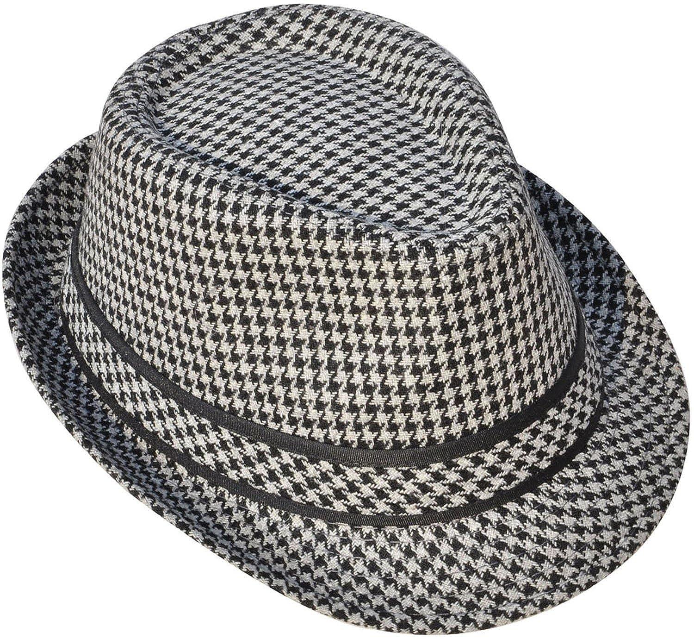 Manhattan Structured Gangster Trilby Wool Fedora Hat $11.99 AT vintagedancer.com