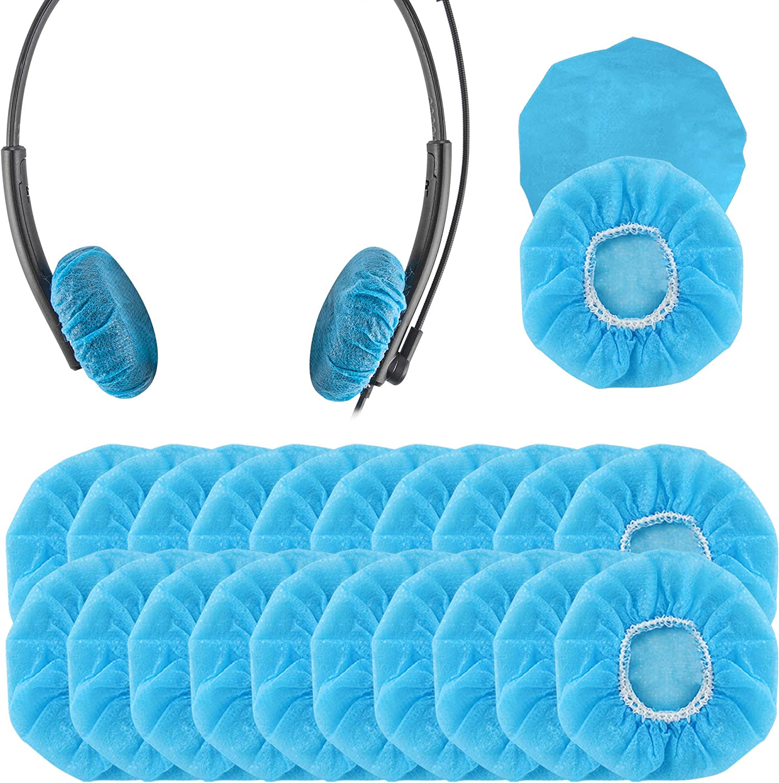 Geekria 100 Pairs Stretchy Headphone Covers Disposable Elektronik
