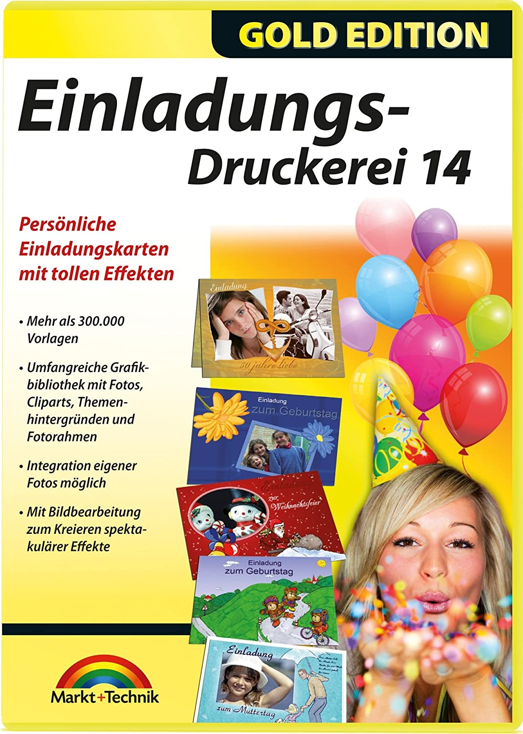 Einladungs-Druckerei 14 - für Windows 10 / 8 / 7: Amazon.de: Software