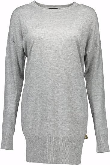 5fd64b1ffaf Love Moschino W S 76R 00 X 0865 Short Dress Women Grey 4048 42:  Amazon.co.uk: Clothing