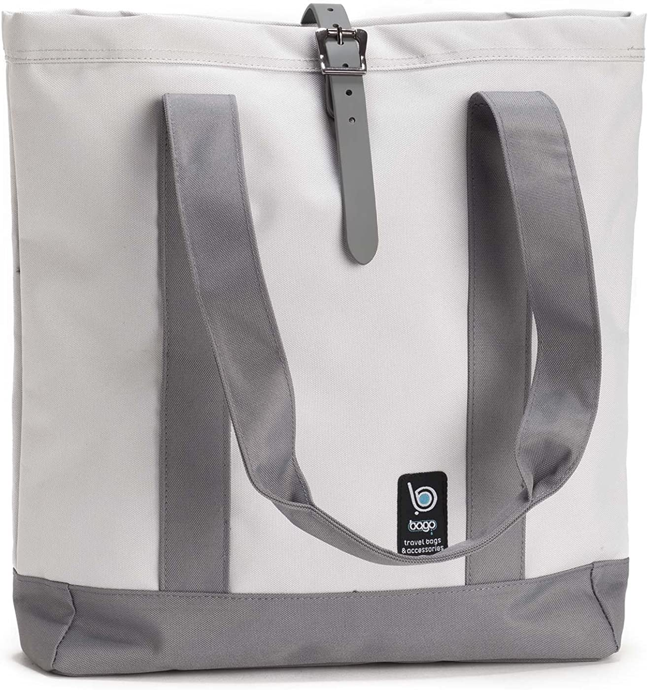 Bago Fashion College Backpack for Travel, Business, Laptop & School (The Gypsy (White))