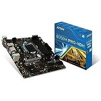 MSI B250M Pro-VDH Placa Base ATX Socket LGA 1151,DDR4,HDMI, VR Ready